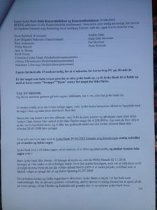 Brev 07-08-2018 til Koncernledelsen gensendt 22-8 S.3 Hvorfor Bestyrelsen udsætter aktionærerne i jyske bank for denne her bedrageri sag Det må i spørger Anders Dam Om OM JYSKE BANKS MEDARBEJDER OG KONCERN LEDERNE KENDER TIL ÆRLIGHED HÆDERLIGHED TROVÆRDIGHED ? PAS det er et svært spørgsmål https://www.jyskebank.dk/omjyskebank/organisation/koncernledergruppe :-) DEN DANSKE BANK, JYSK EBANK UNDERSØGES FOR IMOD BANKENS KUNDE Svindlen kunne lade sig gøre, da udnyttelsen blev lagt ind og sat i system, mens kunde var langtidssyg efter blandt andet en hjerneblødning Og her efter var kunden er nemt offer for jyske banks ansatte, som sikkert troede det var et tag selv bord. MEN JYSKE BANKS ANSATTE HELT OP TIL KONCERNLEDELSEN TO GRUELIG FEJL AF DERES OFFER SOM BÅDE KOM SIG OG OPKLAREDE BEDRAGET At Jyske Bank ved manipulation, og kraftig vildledning kunne snyde og bedrage kunde, var så perfekt udført at selv ikke kundes advokater fatted, den mindste mistanke, til at jyske bank lavede svig, ved at lyve om lån der ikke fandtes, og har fjernet bilag samt misbrugt bilag, ændret i bilag - HVAD SKAL VI GØRE; JO VI RÅBER OP OG VIL HAVE EN DOM OVER JYSKE BANK FOR SVIG :-) § 279. For #bedrageri § 280. For #mandatsvig § 281. For #afpresning § 282. For #åger § 283. For #skyldnersvig Kunde der er blevet udsat for bedrageri gennem 10 år af jyske bank, fortæller hvordan han har forsøgt at få koncernledelsen i jyske bank til at tale med ham Alle i koncernen nægter at svare, men vælger at fortsætte dette meget grove bedrageri, selv om ledelsen mindst har været bekendt med svindel i over 2 år. Et #bedrageri som den samlede koncern ledelse ikke tager afstand fra, og derfor støtter bestyrelsen fortsat bedrageri af lille #virksomhed :-) #Bestyrelsen i #jyskebank #SvenBuhrkall #KurtBligaardPedersen #RinaAsmussen #PhilipBaruch #JensBorup #KeldNorup #ChristinaLykkeMunk #JohnnyChristensen #MarianneLillevang #AndersDam #NielsErikJakobsen #PerSkovhus #PeterSchleidt #Nykredit #MetteEgholmNielsen Siger d