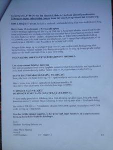 Brev 07-08-2018 til Koncernledelsen gensendt 22-8 S.5 Hvorfor Bestyrelsen udsætter aktionærerne i jyske bank for denne her bedrageri sag Det må i spørger Anders Dam Om OM JYSKE BANKS MEDARBEJDER OG KONCERN LEDERNE KENDER TIL ÆRLIGHED HÆDERLIGHED TROVÆRDIGHED ? PAS det er et svært spørgsmål https://www.jyskebank.dk/omjyskebank/organisation/koncernledergruppe :-) DEN DANSKE BANK, JYSK EBANK UNDERSØGES FOR IMOD BANKENS KUNDE Svindlen kunne lade sig gøre, da udnyttelsen blev lagt ind og sat i system, mens kunde var langtidssyg efter blandt andet en hjerneblødning Og her efter var kunden er nemt offer for jyske banks ansatte, som sikkert troede det var et tag selv bord. MEN JYSKE BANKS ANSATTE HELT OP TIL KONCERNLEDELSEN TO GRUELIG FEJL AF DERES OFFER SOM BÅDE KOM SIG OG OPKLAREDE BEDRAGET At Jyske Bank ved manipulation, og kraftig vildledning kunne snyde og bedrage kunde, var så perfekt udført at selv ikke kundes advokater fatted, den mindste mistanke, til at jyske bank lavede svig, ved at lyve om lån der ikke fandtes, og har fjernet bilag samt misbrugt bilag, ændret i bilag - HVAD SKAL VI GØRE; JO VI RÅBER OP OG VIL HAVE EN DOM OVER JYSKE BANK FOR SVIG :-) § 279. For #bedrageri § 280. For #mandatsvig § 281. For #afpresning § 282. For #åger § 283. For #skyldnersvig Kunde der er blevet udsat for bedrageri gennem 10 år af jyske bank, fortæller hvordan han har forsøgt at få koncernledelsen i jyske bank til at tale med ham Alle i koncernen nægter at svare, men vælger at fortsætte dette meget grove bedrageri, selv om ledelsen mindst har været bekendt med svindel i over 2 år. Et #bedrageri som den samlede koncern ledelse ikke tager afstand fra, og derfor støtter bestyrelsen fortsat bedrageri af lille #virksomhed :-) #Bestyrelsen i #jyskebank #SvenBuhrkall #KurtBligaardPedersen #RinaAsmussen #PhilipBaruch #JensBorup #KeldNorup #ChristinaLykkeMunk #JohnnyChristensen #MarianneLillevang #AndersDam #NielsErikJakobsen #PerSkovhus #PeterSchleidt #Nykredit #MetteEgholmNielsen Siger d