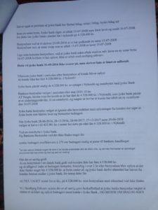 Brev 22-08-2018 til koncernledelsen jyskebank S.2-3 Hvorfor Bestyrelsen udsætter aktionærerne i jyske bank for denne her bedrageri sag Det må i spørger Anders Dam Om OM JYSKE BANKS MEDARBEJDER OG KONCERN LEDERNE KENDER TIL ÆRLIGHED HÆDERLIGHED TROVÆRDIGHED ? PAS det er et svært spørgsmål https://www.jyskebank.dk/omjyskebank/organisation/koncernledergruppe :-) DEN DANSKE BANK, JYSK EBANK UNDERSØGES FOR IMOD BANKENS KUNDE Svindlen kunne lade sig gøre, da udnyttelsen blev lagt ind og sat i system, mens kunde var langtidssyg efter blandt andet en hjerneblødning Og her efter var kunden er nemt offer for jyske banks ansatte, som sikkert troede det var et tag selv bord. MEN JYSKE BANKS ANSATTE HELT OP TIL KONCERNLEDELSEN TO GRUELIG FEJL AF DERES OFFER SOM BÅDE KOM SIG OG OPKLAREDE BEDRAGET At Jyske Bank ved manipulation, og kraftig vildledning kunne snyde og bedrage kunde, var så perfekt udført at selv ikke kundes advokater fatted, den mindste mistanke, til at jyske bank lavede svig, ved at lyve om lån der ikke fandtes, og har fjernet bilag samt misbrugt bilag, ændret i bilag - HVAD SKAL VI GØRE; JO VI RÅBER OP OG VIL HAVE EN DOM OVER JYSKE BANK FOR SVIG :-) § 279. For #bedrageri § 280. For #mandatsvig § 281. For #afpresning § 282. For #åger § 283. For #skyldnersvig Kunde der er blevet udsat for bedrageri gennem 10 år af jyske bank, fortæller hvordan han har forsøgt at få koncernledelsen i jyske bank til at tale med ham Alle i koncernen nægter at svare, men vælger at fortsætte dette meget grove bedrageri, selv om ledelsen mindst har været bekendt med svindel i over 2 år. Et #bedrageri som den samlede koncern ledelse ikke tager afstand fra, og derfor støtter bestyrelsen fortsat bedrageri af lille #virksomhed :-) #Bestyrelsen i #jyskebank #SvenBuhrkall #KurtBligaardPedersen #RinaAsmussen #PhilipBaruch #JensBorup #KeldNorup #ChristinaLykkeMunk #JohnnyChristensen #MarianneLillevang #AndersDam #NielsErikJakobsen #PerSkovhus #PeterSchleidt #Nykredit #MetteEgholmNielsen Siger de 