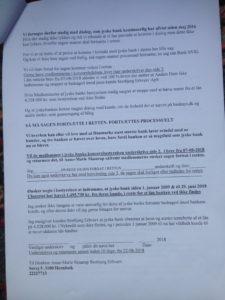 Brev 22-08-2018 til koncernledelsen jyskebank S.3-3 Hvorfor Bestyrelsen udsætter aktionærerne i jyske bank for denne her bedrageri sag Det må i spørger Anders Dam Om OM JYSKE BANKS MEDARBEJDER OG KONCERN LEDERNE KENDER TIL ÆRLIGHED HÆDERLIGHED TROVÆRDIGHED ? PAS det er et svært spørgsmål https://www.jyskebank.dk/omjyskebank/organisation/koncernledergruppe :-) DEN DANSKE BANK, JYSK EBANK UNDERSØGES FOR IMOD BANKENS KUNDE Svindlen kunne lade sig gøre, da udnyttelsen blev lagt ind og sat i system, mens kunde var langtidssyg efter blandt andet en hjerneblødning Og her efter var kunden er nemt offer for jyske banks ansatte, som sikkert troede det var et tag selv bord. MEN JYSKE BANKS ANSATTE HELT OP TIL KONCERNLEDELSEN TO GRUELIG FEJL AF DERES OFFER SOM BÅDE KOM SIG OG OPKLAREDE BEDRAGET At Jyske Bank ved manipulation, og kraftig vildledning kunne snyde og bedrage kunde, var så perfekt udført at selv ikke kundes advokater fatted, den mindste mistanke, til at jyske bank lavede svig, ved at lyve om lån der ikke fandtes, og har fjernet bilag samt misbrugt bilag, ændret i bilag - HVAD SKAL VI GØRE; JO VI RÅBER OP OG VIL HAVE EN DOM OVER JYSKE BANK FOR SVIG :-) § 279. For #bedrageri § 280. For #mandatsvig § 281. For #afpresning § 282. For #åger § 283. For #skyldnersvig Kunde der er blevet udsat for bedrageri gennem 10 år af jyske bank, fortæller hvordan han har forsøgt at få koncernledelsen i jyske bank til at tale med ham Alle i koncernen nægter at svare, men vælger at fortsætte dette meget grove bedrageri, selv om ledelsen mindst har været bekendt med svindel i over 2 år. Et #bedrageri som den samlede koncern ledelse ikke tager afstand fra, og derfor støtter bestyrelsen fortsat bedrageri af lille #virksomhed :-) #Bestyrelsen i #jyskebank #SvenBuhrkall #KurtBligaardPedersen #RinaAsmussen #PhilipBaruch #JensBorup #KeldNorup #ChristinaLykkeMunk #JohnnyChristensen #MarianneLillevang #AndersDam #NielsErikJakobsen #PerSkovhus #PeterSchleidt #Nykredit #MetteEgholmNielsen Siger de 