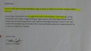 FOR AT UNDGÅ MISFORSTÅELSER ja tak Hvorfor Bestyrelsen udsætter aktionærerne i jyske bank for denne her bedrageri sag Det må i spørger Anders Dam Om OM JYSKE BANKS MEDARBEJDER OG KONCERN LEDERNE KENDER TIL ÆRLIGHED HÆDERLIGHED TROVÆRDIGHED ? PAS det er et svært spørgsmål https://www.jyskebank.dk/omjyskebank/organisation/koncernledergruppe :-) DEN DANSKE BANK, JYSK EBANK UNDERSØGES FOR IMOD BANKENS KUNDE Svindlen kunne lade sig gøre, da udnyttelsen blev lagt ind og sat i system, mens kunde var langtidssyg efter blandt andet en hjerneblødning Og her efter var kunden er nemt offer for jyske banks ansatte, som sikkert troede det var et tag selv bord. MEN JYSKE BANKS ANSATTE HELT OP TIL KONCERNLEDELSEN TO GRUELIG FEJL AF DERES OFFER SOM BÅDE KOM SIG OG OPKLAREDE BEDRAGET At Jyske Bank ved manipulation, og kraftig vildledning kunne snyde og bedrage kunde, var så perfekt udført at selv ikke kundes advokater fatted, den mindste mistanke, til at jyske bank lavede svig, ved at lyve om lån der ikke fandtes, og har fjernet bilag samt misbrugt bilag, ændret i bilag - HVAD SKAL VI GØRE; JO VI RÅBER OP OG VIL HAVE EN DOM OVER JYSKE BANK FOR SVIG :-) § 279. For #bedrageri § 280. For #mandatsvig § 281. For #afpresning § 282. For #åger § 283. For #skyldnersvig Kunde der er blevet udsat for bedrageri gennem 10 år af jyske bank, fortæller hvordan han har forsøgt at få koncernledelsen i jyske bank til at tale med ham Alle i koncernen nægter at svare, men vælger at fortsætte dette meget grove bedrageri, selv om ledelsen mindst har været bekendt med svindel i over 2 år. Et #bedrageri som den samlede koncern ledelse ikke tager afstand fra, og derfor støtter bestyrelsen fortsat bedrageri af lille #virksomhed :-) #Bestyrelsen i #jyskebank #SvenBuhrkall #KurtBligaardPedersen #RinaAsmussen #PhilipBaruch #JensBorup #KeldNorup #ChristinaLykkeMunk #JohnnyChristensen #MarianneLillevang #AndersDam #NielsErikJakobsen #PerSkovhus #PeterSchleidt #Nykredit #MetteEgholmNielsen Siger de ikke vil leverer 