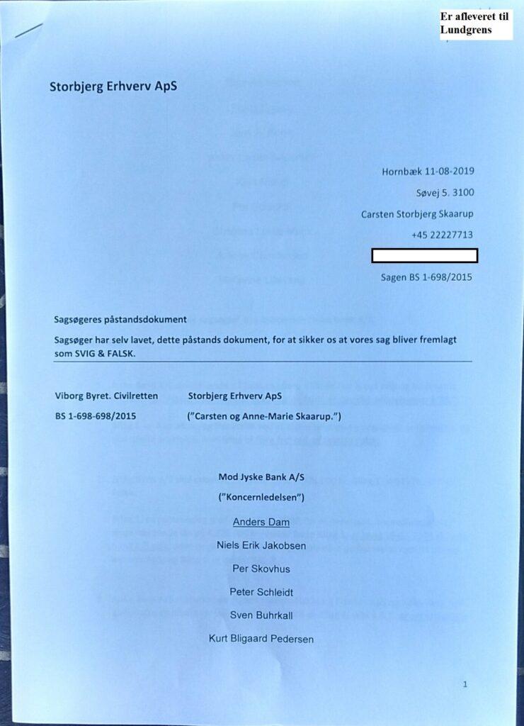 What does the #Board say in #jyskebank for fraud against customers? Customer asks the management #SvenBuhrækall #KurtBligaardPedersen #RinaAsmussen #PhilipBaruch #JensBorup #KeldNorup #ChristinaLykkeMunk #JohnnyChristensen #MarianneLillevang #AndersDam #NielsErikJakobsen #PerSkovhus #PeterSchleidt whether it is okay for Jyske bank to lie to customers. What does the #Board say in #jyskebank for fraud against customers? Customer asks the management #SvenBuhrækall #KurtBligaardPedersen #RinaAsmussen #PhilipBaruch #JensBorup #KeldNorup #ChristinaLykkeMunk #JohnnyChristensen #MarianneLillevang #AndersDam #NielsErikJakobsen #PerSkovhus #PeterSchleidt whether it is okay for Jyske bank to lie to customers.